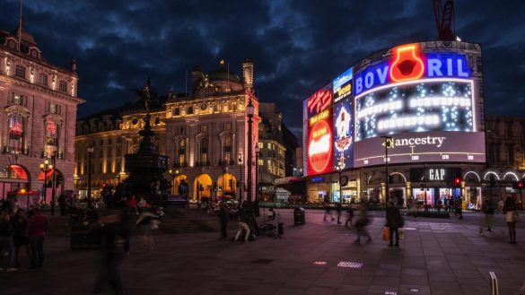Ancestry: Anomaly takes Piccadilly Circus back in time for Ancestry