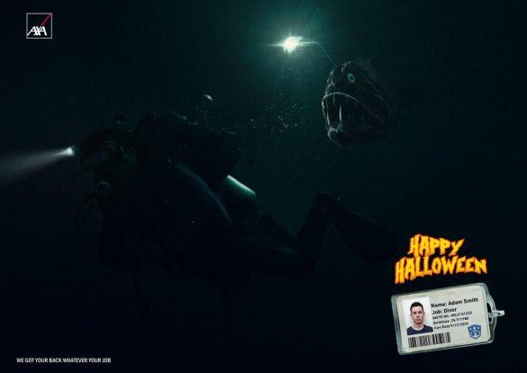 AXA: Happy Halloween