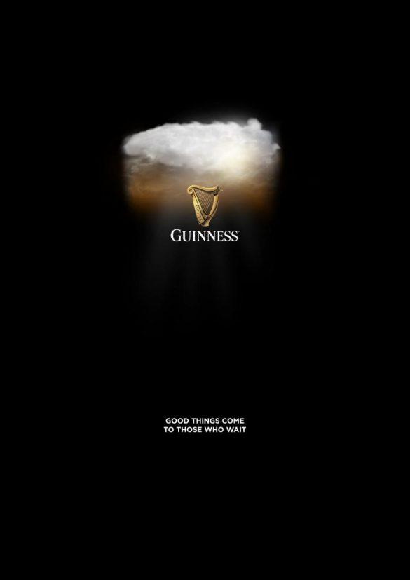 Guinness: Good things come to those who wait
