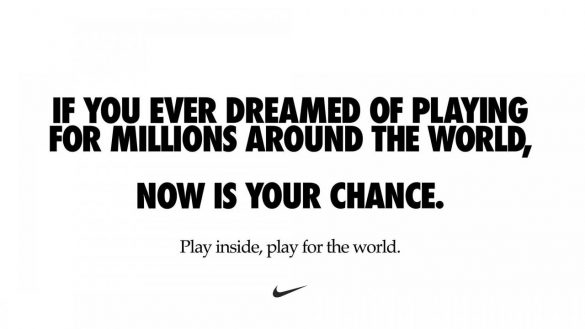 Nike: COVID-19 - Now is your chance
