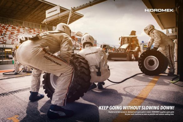 Hidromek: Keep Going without slowing down