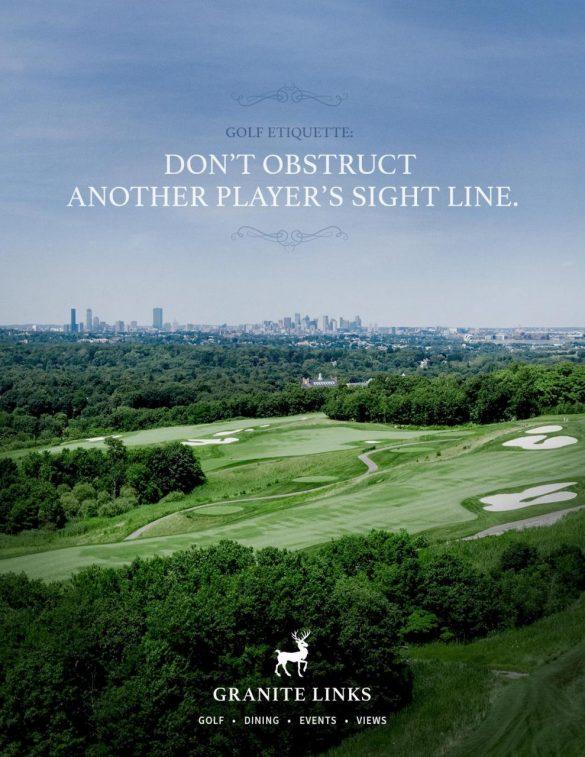 Granite Links: Golf Etiquette