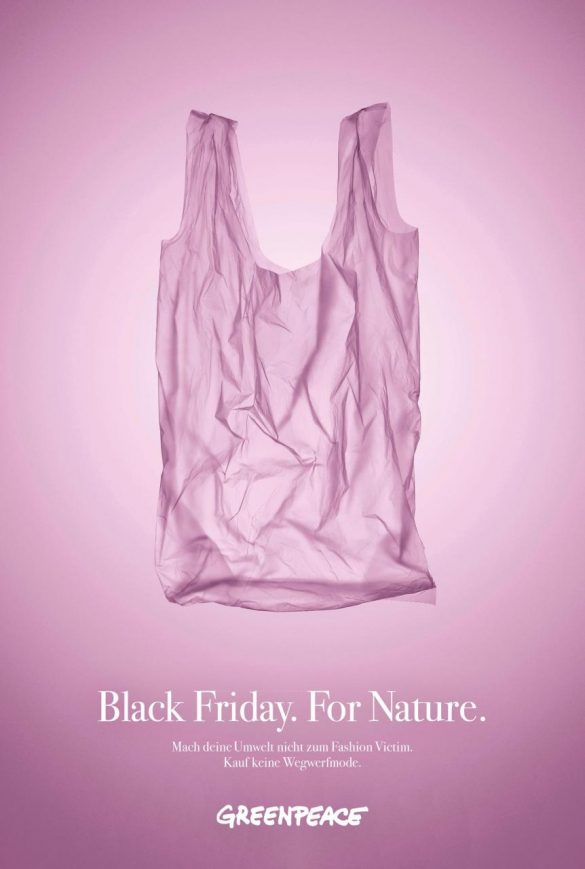 Greenpeace: Black Friday. For Nature.