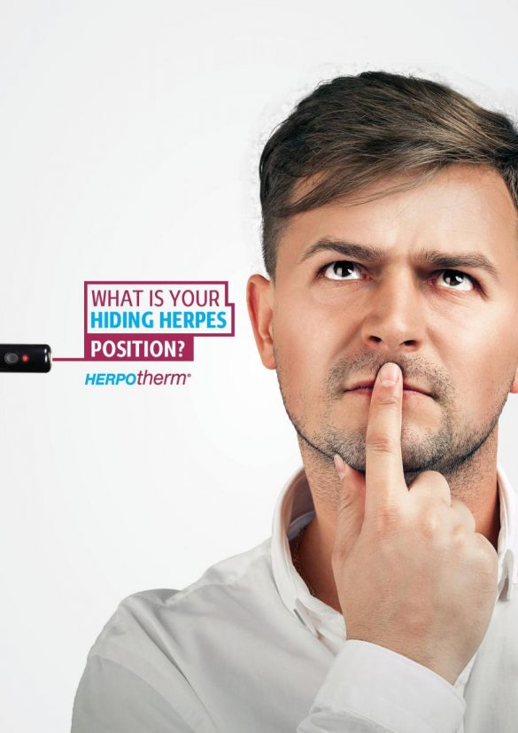 Herpotherm: What is your hiding herpes position?