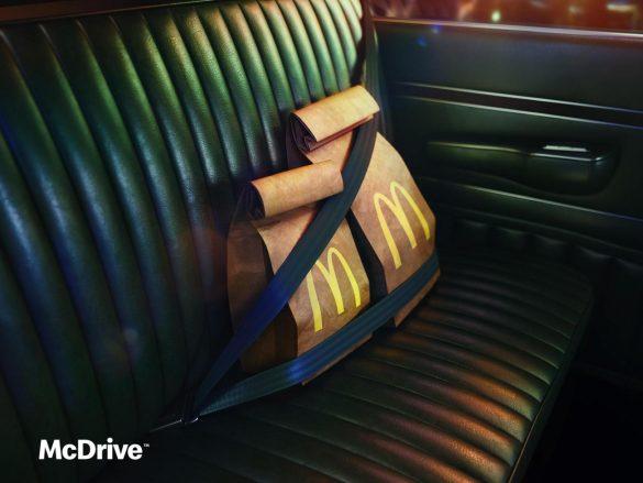McDonald's: McDrive on board