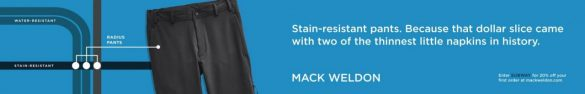 Mack Weldon: Proven in NYC