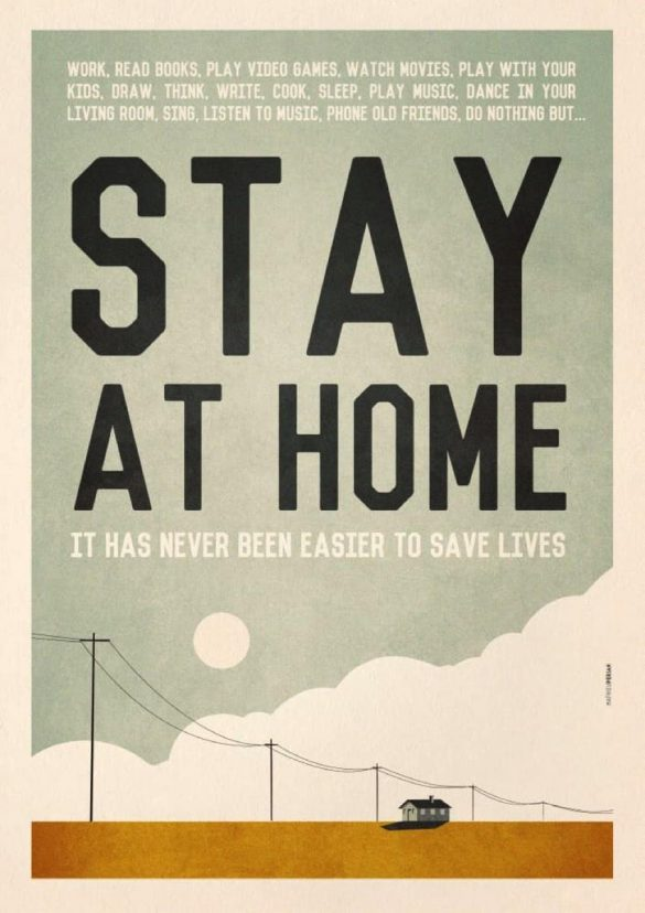 United Nations / COVID-19: Stay at Home Poster