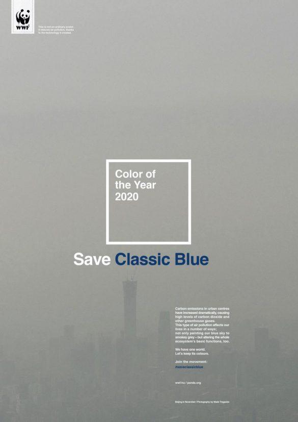 WWF: Save Classic Blue
