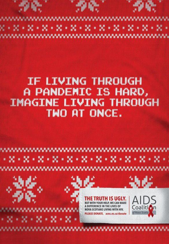 Aids Coalition of Nova Scotia: Ugly (Truth) Sweaters