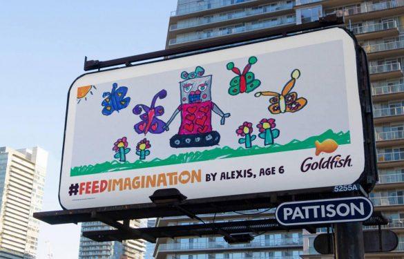 Goldfish: Five new creatives