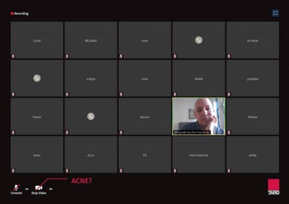 Taro: Acne- The Camera off campaign
