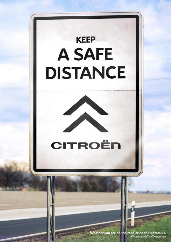 Citroën: Keep a safe distance