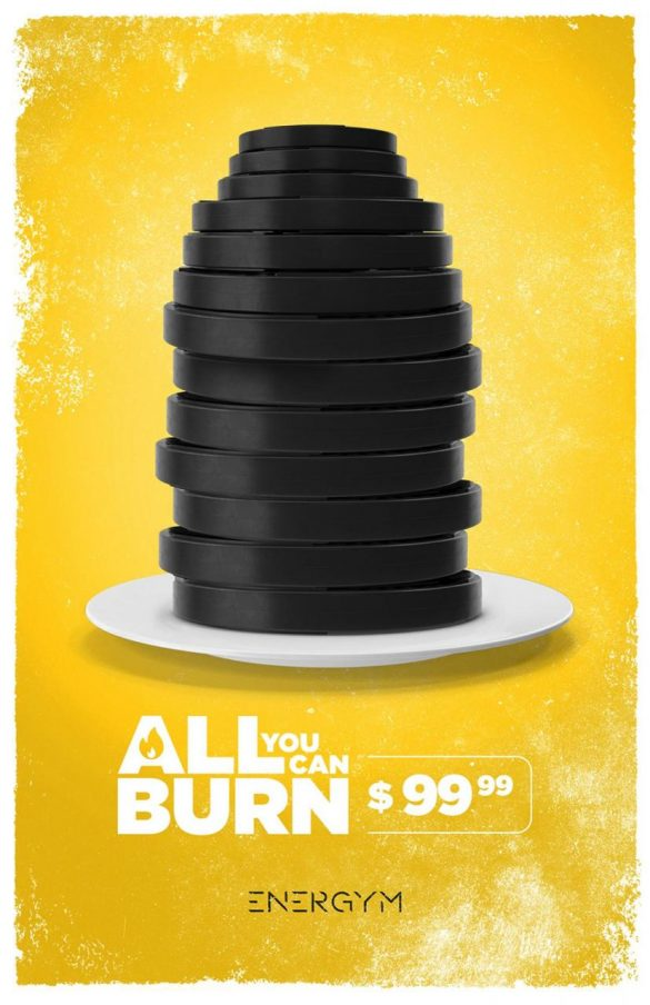 Energym: All you can burn