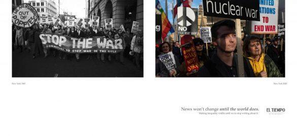 El Tiempo: Change the news